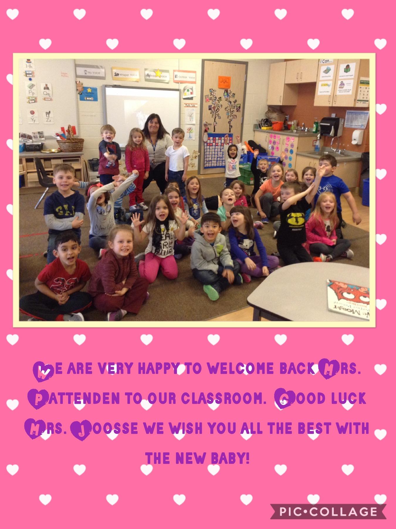 Welcome back! | Morningstar Joosse Kinders