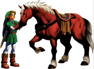 Link and Epona in Ocarina of time. Photo from: http://zelda.wikia.com/wiki/Epona