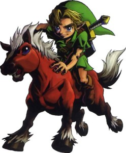 Link and his horse, Epona, in Majora's Mask. Photo from: http://en.wikipedia.org/wiki/Epona_(The_Legend_of_Zelda)