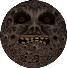 The moon in Majora's Mask. Photo from: http://zelda.wikia.com/wiki/Moon