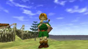 This photo showcases Ocarina of Time's 3D style. Photo from: http://zelda.wikia.com/wiki/The_Legend_of_Zelda:_Ocarina_of_Time