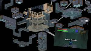 This picture shows us the layout of the Water Temple, and what it looks like when you enter. Photo from: http://www.kotaku.com.au/2014/01/the-water-temple-doesnt-seem-difficult-in-these-ocarina-of-time-maps/