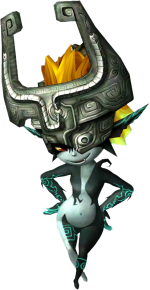 Midna. Photo from: http://zeldawiki.org/Midna