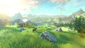 A screenshot from the next Legend of Zelda game. Photo from: http://www.gamespot.com/the-legend-of-zelda-wii-u/