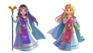 Princess Hilda (left) and Princess Zelda (right). Photo from: http://www.gamereactor.eu/previews/95454/The+Legend+of+Zelda%3A+A+Link+Between+Worlds/