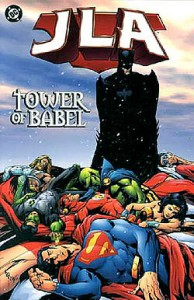 "Howard Porter. ""Tower of Babel"" 2000. Online image. http://dc.wikia.com Downloaded 2/11/15"