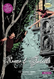 Romeo and Juliet Graphic Novel cover