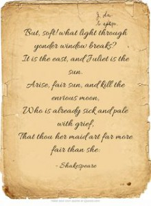 Romeo and Juliet Quote 1