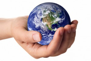 The earth is in our hands.