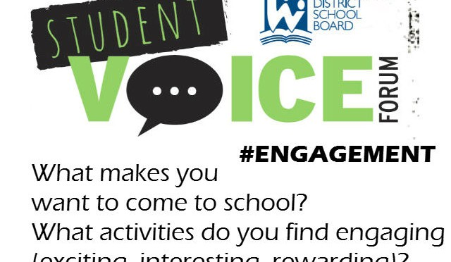 What makes you want to come to school? (#ENGAGEMENT)