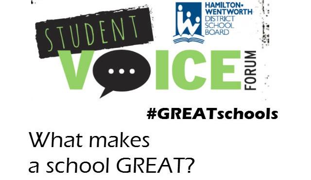 What makes a school GREAT? (#GREATschools)