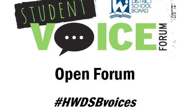 Open Forum (#HWDSBvoices)