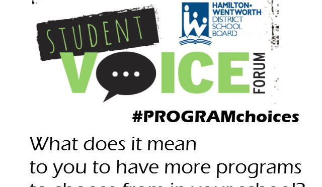 What does it mean to you to have more programs to choose from in your school? (#PROGRAMchoices)