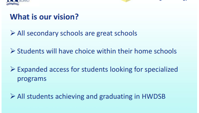 #VISION: What Makes a GREAT Secondary School?