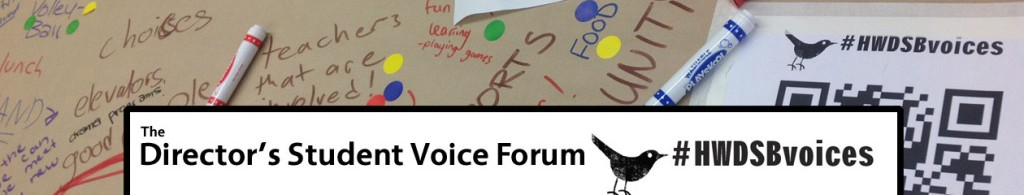 The Director's Student Voice Forum