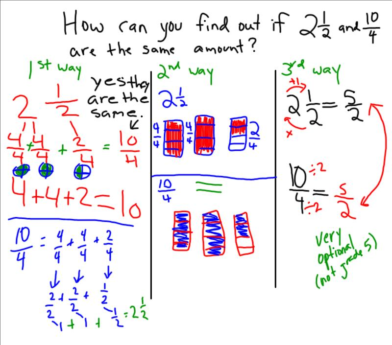 Feb26 2013 Grade 5 math - fractions, mixed numbers_5