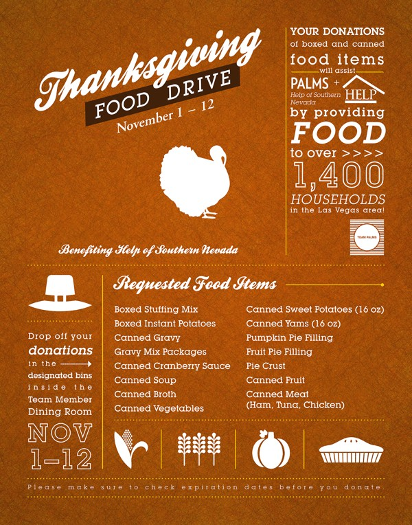 food drive example poster
