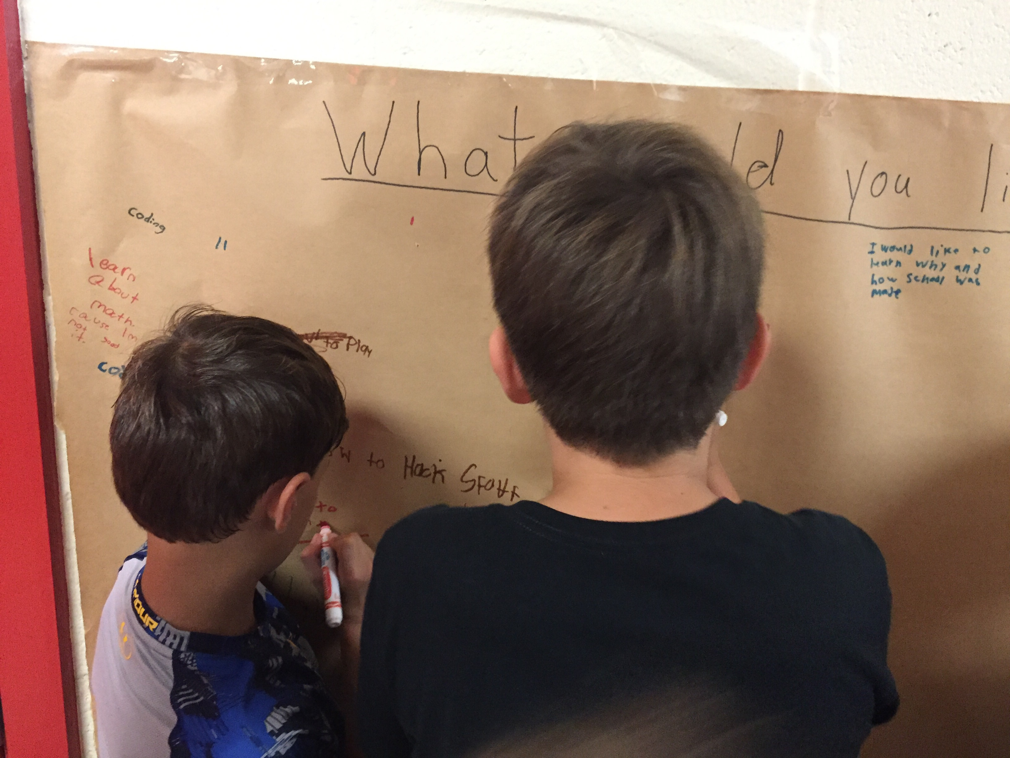 Graffiti wall activity - Families May Recall The Graffiti Wall Activity In The Last Pink Day Mr Gris Prepared Another Graffit Wall This Week For Student Voice