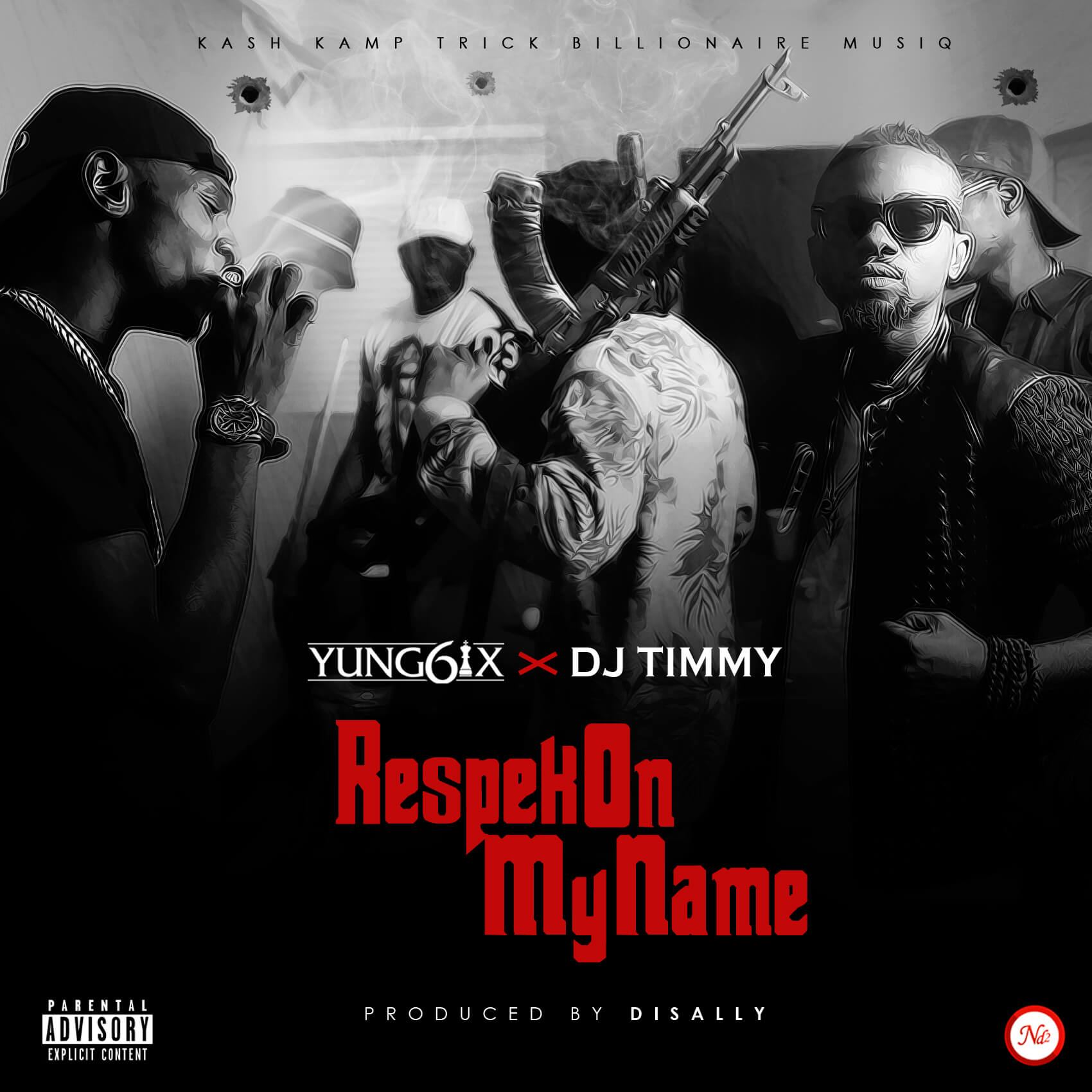 New Song No Need Mp3: Yung6ix X DJ Timmy - Respek On My Name [New Song]