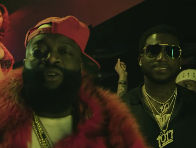 "caa12146464 Rick Ross Feat. Gucci Mane ""She On My D ck"" Video"