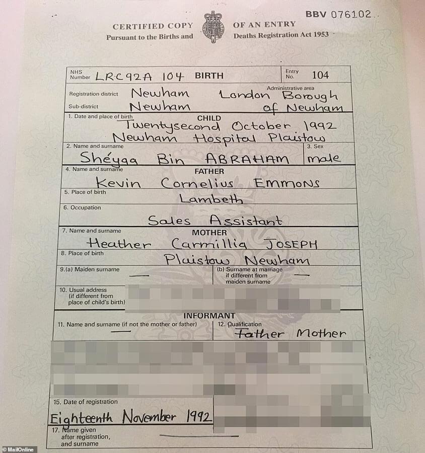 list of birth certificates london ontario