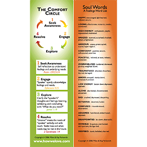Product: Comfort Circle Bookmark