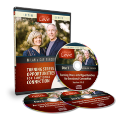 Turning Stress into Opportunities for Emotional Connection (3 Hour Audio CD)