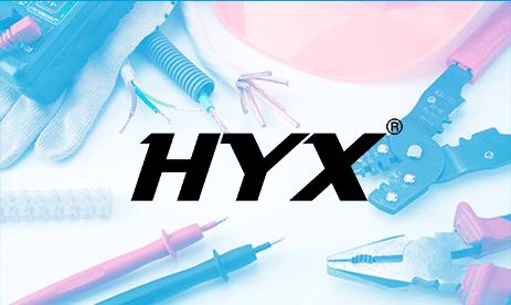 Imagem logo da marca Hyx.