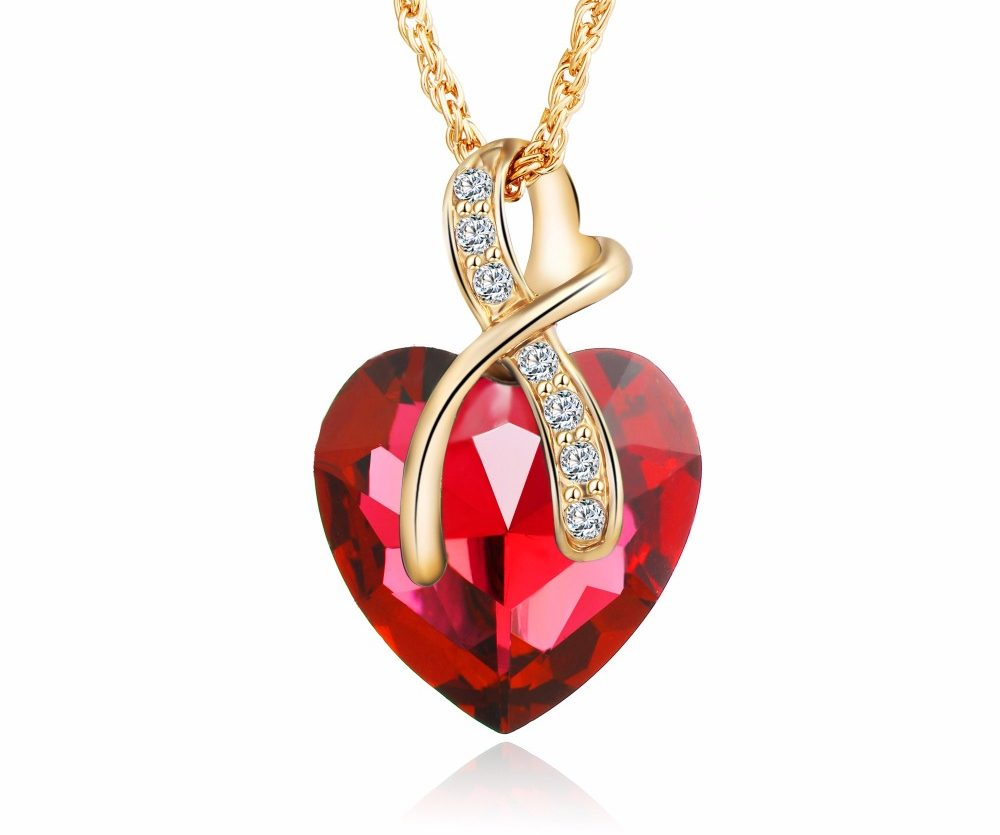 Austrian crystal heart pendant necklace hypnodess trading cards become a model my account aloadofball Images