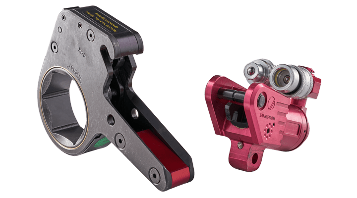 hydraulic pipe wrench