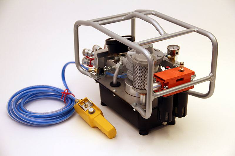air powered hydraulic pump