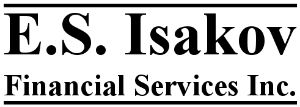 E.S. Isakov Financial Services inc.