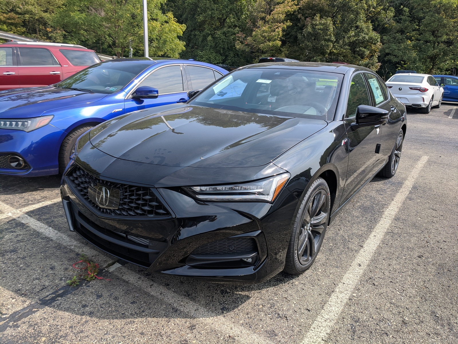 New 2021 Acura Tlx W A Spec Package In Modern Steel Metallic Greensburg Pa A03036