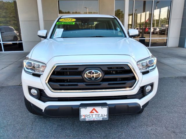 2018 Toyota Tacoma SR5 Double Cab 6' Bed V6 4x4 AT Crew Cab Pickup 4WD 3