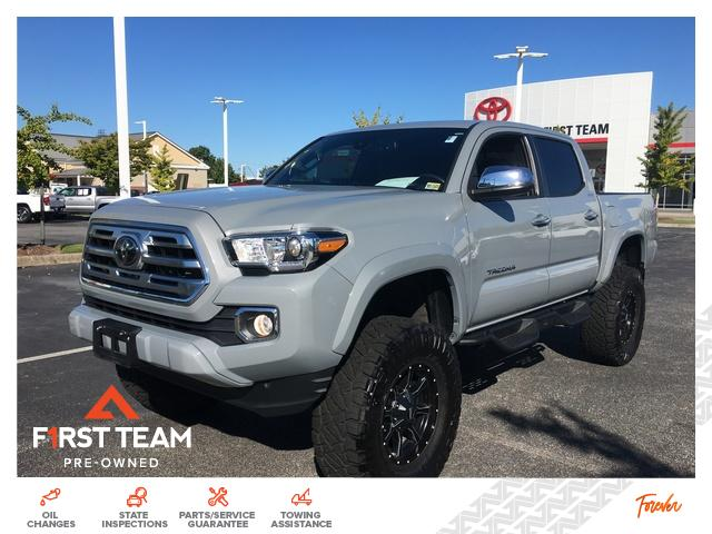2019 Toyota Tacoma Limited Double Cab 5' Bed V6 AT Crew Cab Pickup 4WD