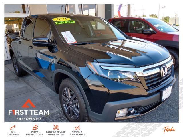 2019 Honda Ridgeline Sport AWD Crew Cab Pickup
