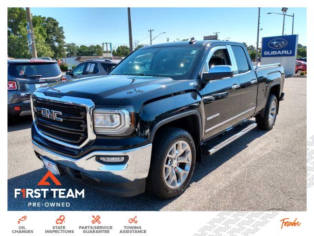 2017 GMC Sierra 1500 4WD Double Cab 143.5 SLT Extended Cab Pickup