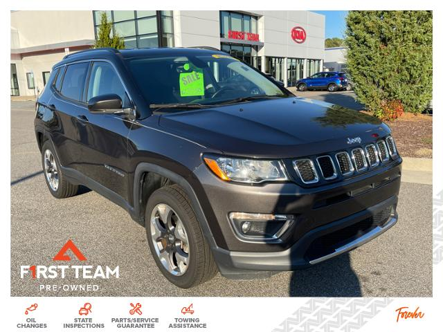 2018 Jeep Compass Limited 4x4 SUV 4WD