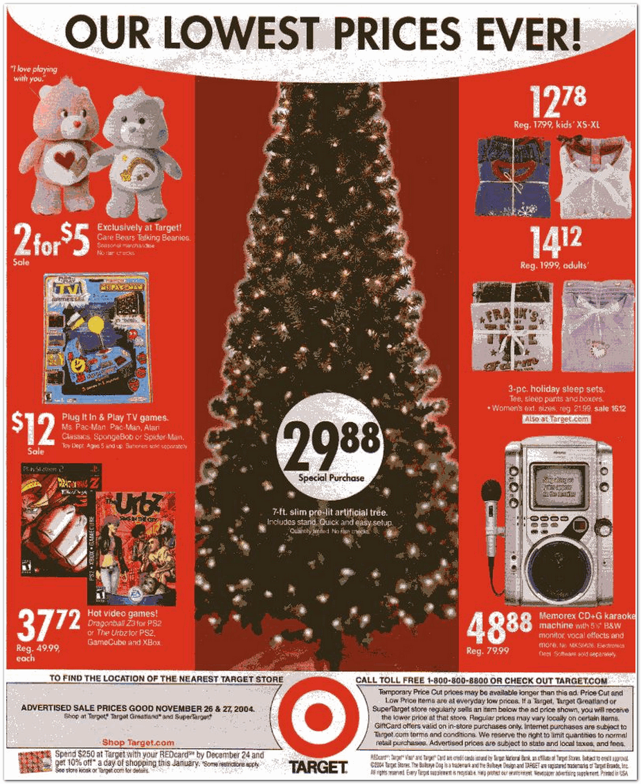 Target 2004 Black Friday Ad Black Friday Archive Black Friday Ads From The Past