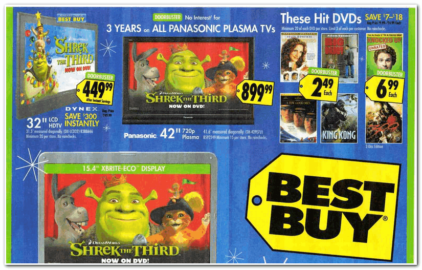 Best Buy 2007 Black Friday Ad Black Friday Archive Black Friday Ads From The Past