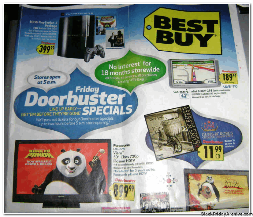 Best Buy 2008 Black Friday Ad Black Friday Archive Black Friday Ads From The Past