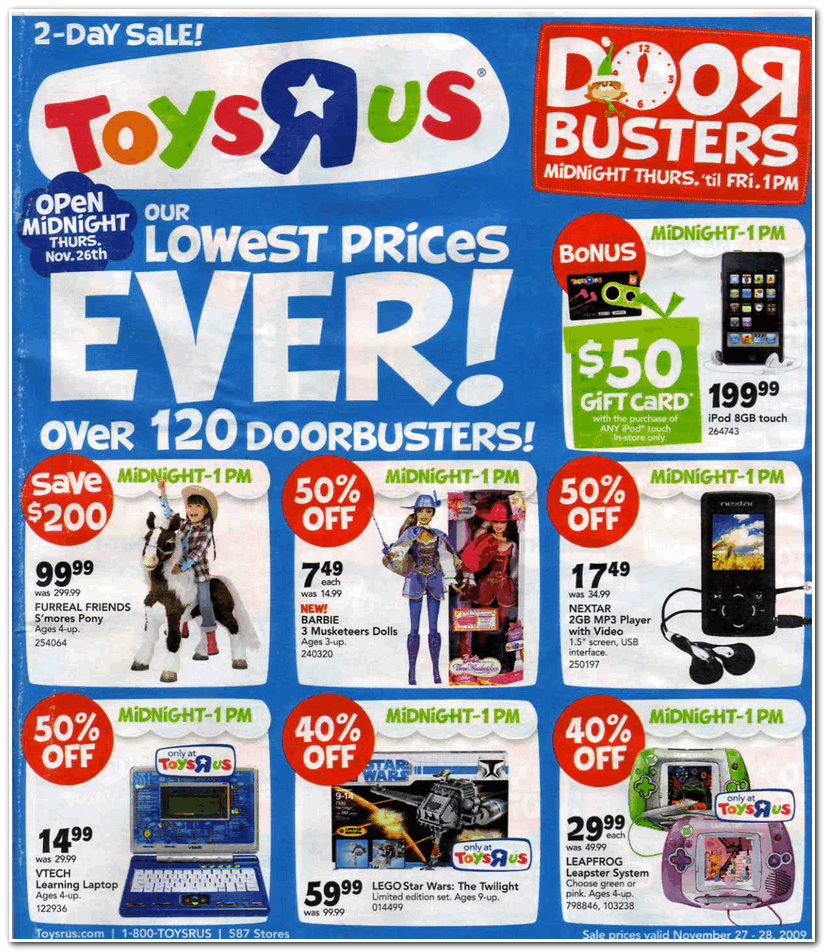 Toys R Us 2009 Black Friday Ad Black Friday Archive Black Friday - Toys-r-us-black-friday-store-map