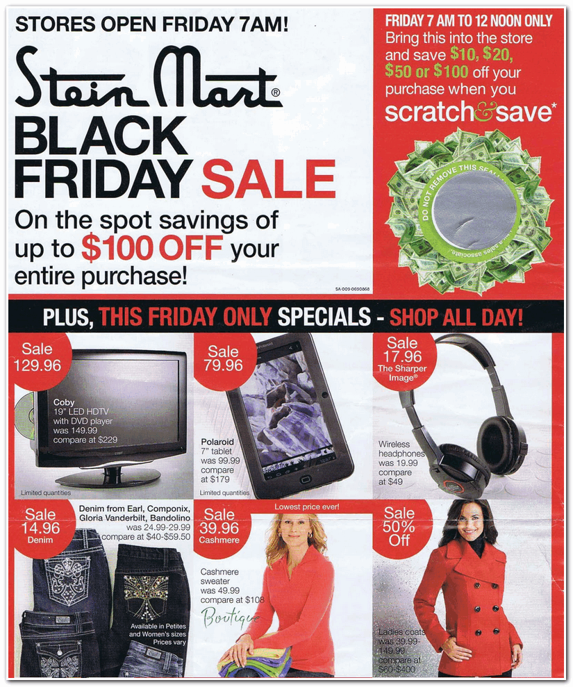 6b18183970e Stein Mart 2012 Black Friday Ad - Black Friday Archive - Black Friday Ads  from the Past