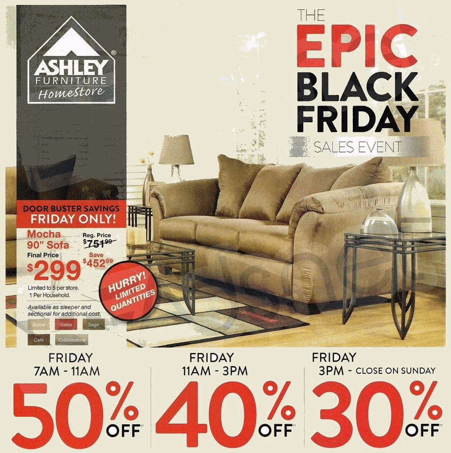 Ashley Furniture 2014 Black Friday Ad Black Friday Archive Black