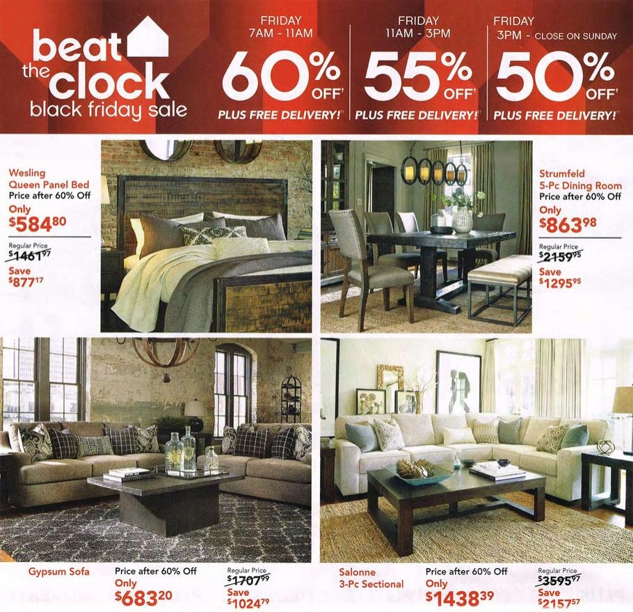 Ashley furniture 2015 black friday ad black friday archive black friday ads from the past