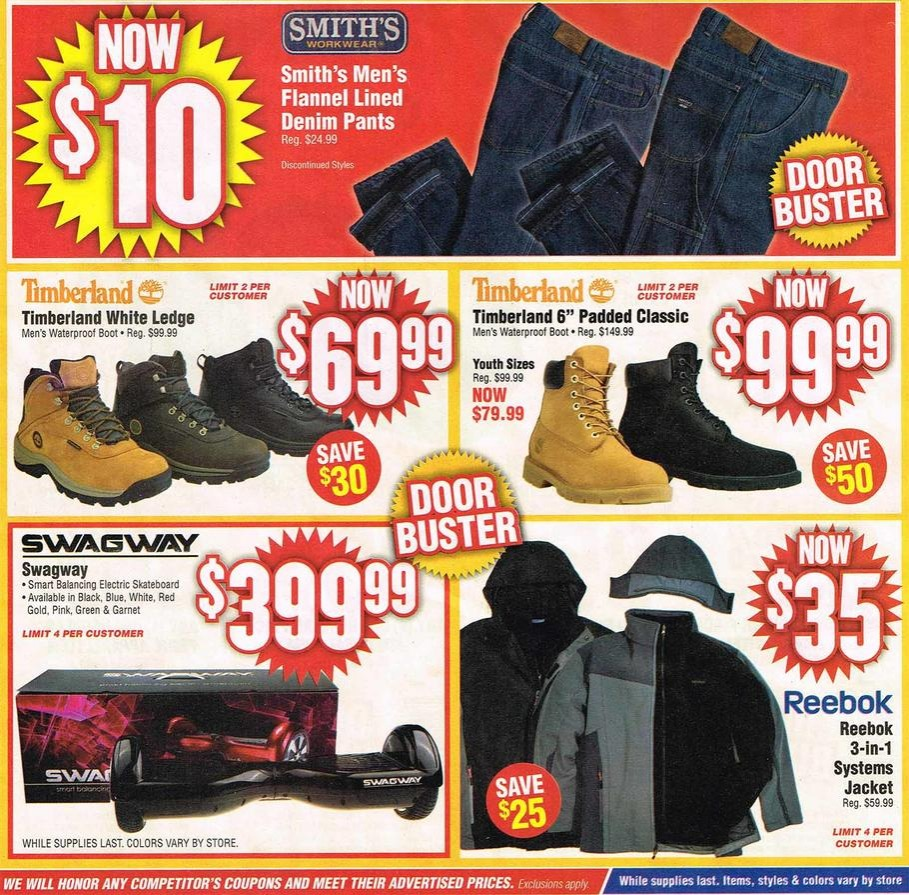 new arrivals promo code factory outlets Modell's 2015 Black Friday Ad - Black Friday Archive - Black ...