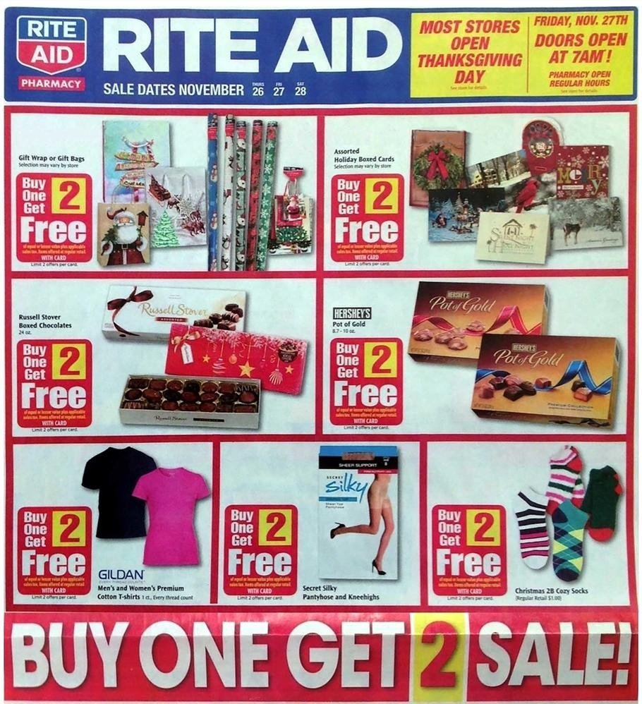 Rite Aid Christmas Cards.Rite Aid 2015 Black Friday Ad Black Friday Archive Black