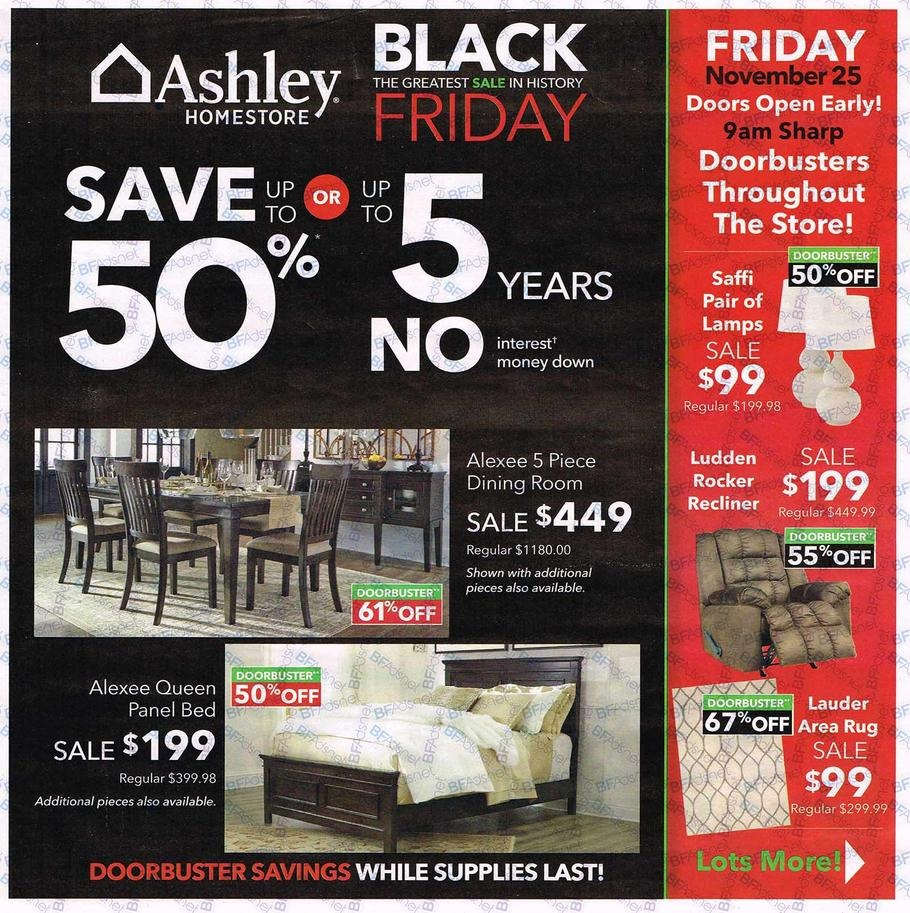 Ashley Furniture 2016 Black Friday Ad Black Friday Archive Black