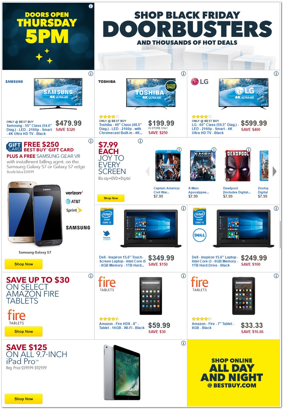 Best Buy 2016 Black Friday Ad Black Friday Archive Black Friday Ads From The Past