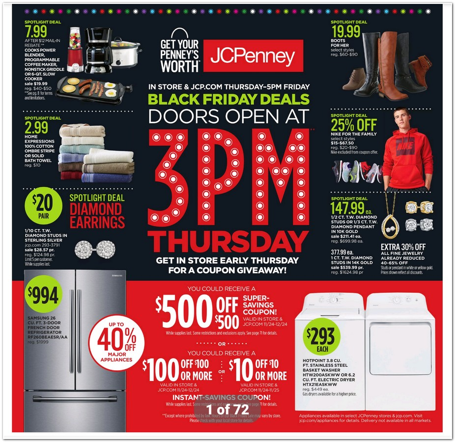 3cb1a5870 JCPenney 2016 Black Friday Ad - Black Friday Archive - Black Friday Ads  from the Past
